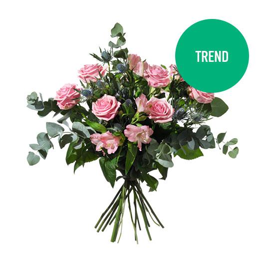 skicka blommor utlandet