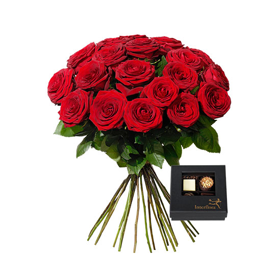 100 rosor betydelse